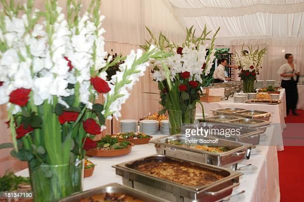 Buffet Sommerfest Der festliche Sommerabend von Preussen 2007 auf dem Wümmehof von P r i n z C h r i s t i a n S i g i s m u n d von P r e u s s e n...