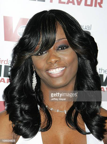 Buffie the Body during 2005 Vibe Awards Arrivals at Sony Studios in Culver City California United States