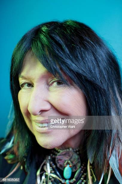 Buffy Sainte Marie poses for a portrait at the 2017 Juno Awards for The Globe and Mail on April 1 2017 in Ottawa Ontario