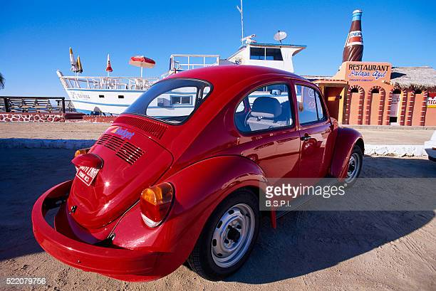 VW Bug by Waterfront