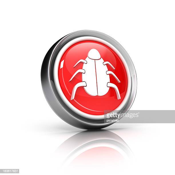 Käfer oder virus-Symbol