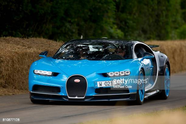 Bugatti Chiron during the Goodwood festival of Speed at Goodwood on June 30th 2017 in Chichester England