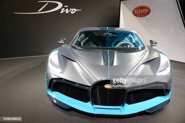 Bugatti Divo during Mondial Paris Motor Show in Paris France on 4 October 20178 The Mondial Paris Motor Show Paris 2018 evolves with the new...