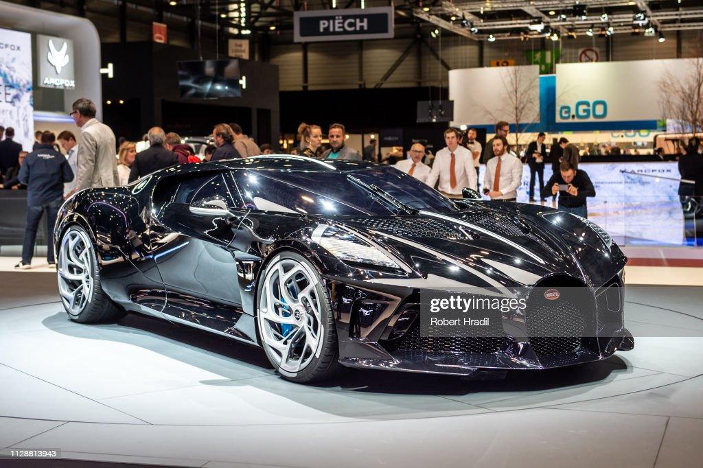 89th Geneva International Motor Show Press Days : News Photo