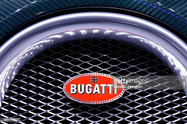 Bugatti Symbol Stock Photos And Pictures Getty Images