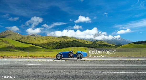 Bugatti Replica & Kiwi Landscape