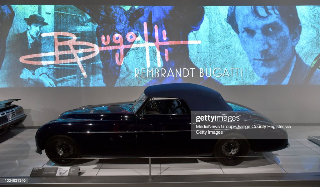 Bugatti Type 101c Is Displayed At The Petersen Automotive Museum In