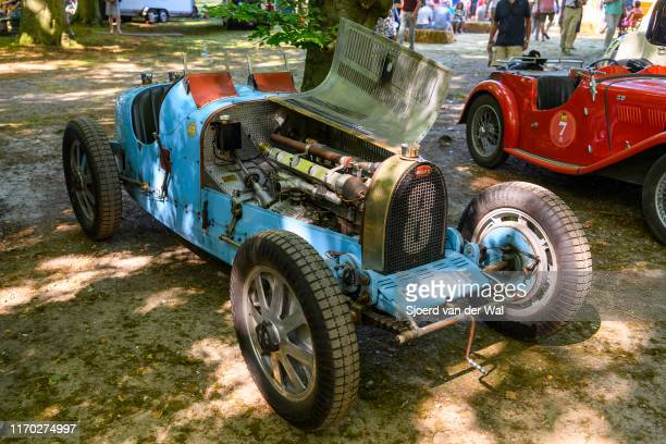 Bugatti Type 35 on display at the 2019 Concours d'Elegance at palace Soestdijk on August 25 2019 in Baarn Netherlands This is the first time the...