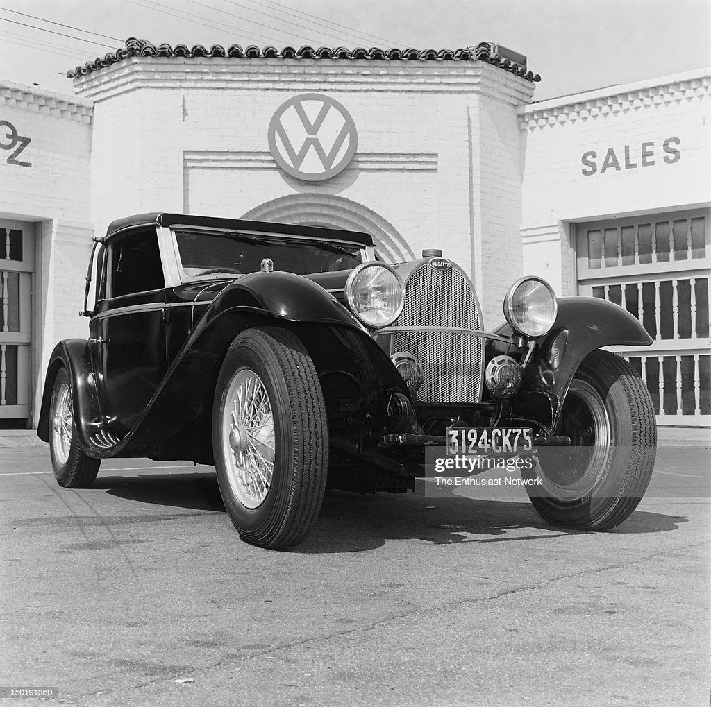 Bugatti Convertible: Bugatti Type 55 Convertible With Modifications By Jean