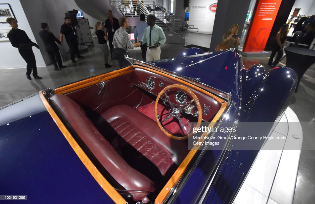Bugatti Type 57c Is Showcased At The Petersen Automotive Museum In