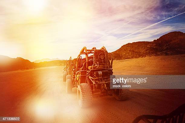 buggie in desert