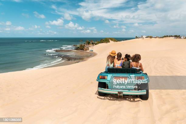 buggy ride in genipabu beach, rio grande do norte - natal brazil stock pictures, royalty-free photos & images