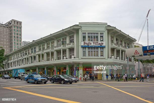 bugis village in singapore - gwengoat stockfoto's en -beelden