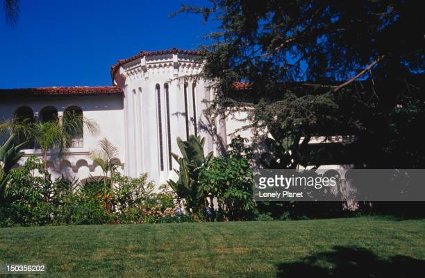 bugsy siegel's mistress's house in beverly hills. - bugsy siegel stock photos and pictures