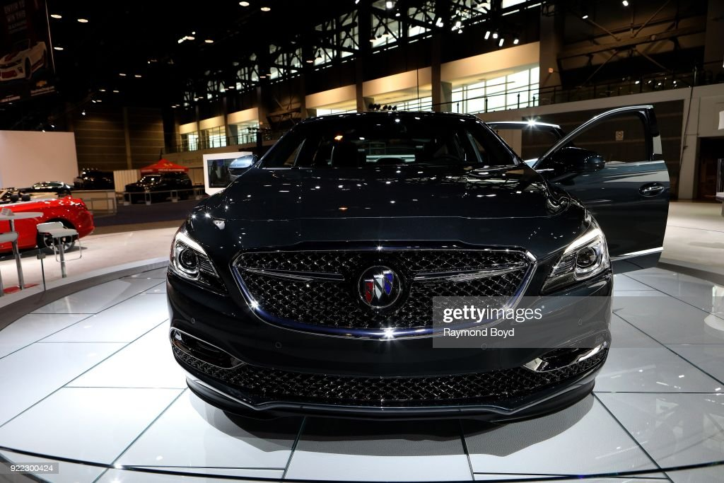 Buick Avenir is on display at the 110th Annual Chicago Auto Show at McCormick Place in Chicago, Illinois on February 9, 2018.