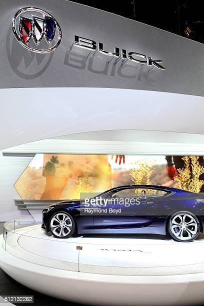 Buick Avista Concept is on display at the 108th Annual Chicago Auto Show at McCormick Place in Chicago Illinois on February 12 2016