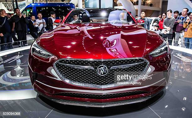 Buick AVISTA is being displayed at the Beijing International Automotive Exhibition in Beijing China on April 27 2016