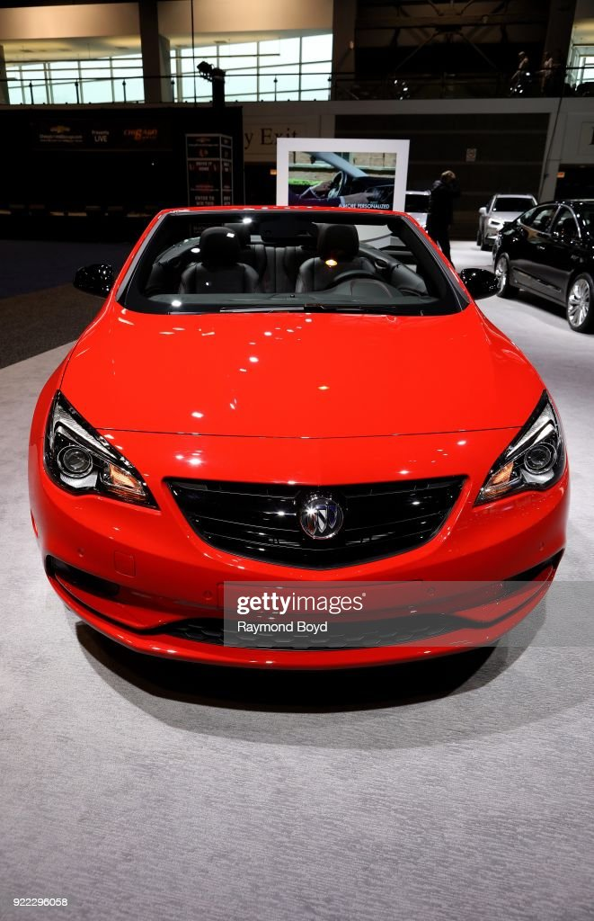 Buick Cascada is on display at the 110th Annual Chicago Auto Show at McCormick Place in Chicago, Illinois on February 9, 2018.