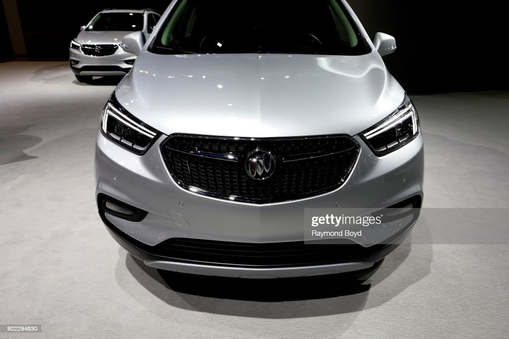 Buick Encore is on display at the 110th Annual Chicago Auto Show at McCormick Place in Chicago, Illinois on February 9, 2018.