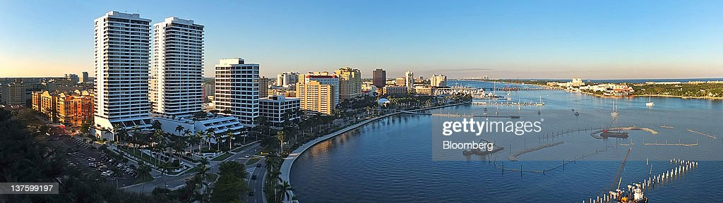 General Economic Imagery From Florida Ahead Of The Republican Primary : News Photo