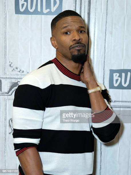 Build Presents Jamie Foxx Discussing His New Game Show 'Beat Shazam' at Build Studio on May 23 2017 in New York City