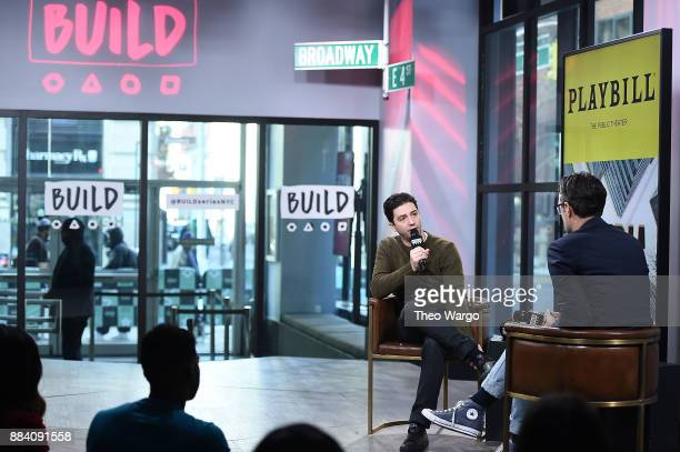 Build Presents John Magaro Discussing Illyria at Build Studio on December 1 2017 in New York City