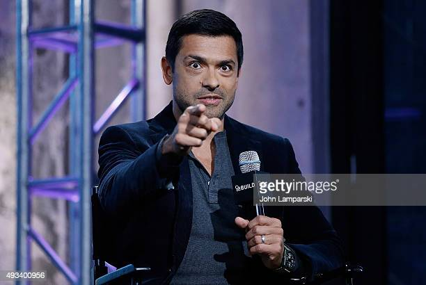 Build presents Mark Consuelos at AOL Studios In New York on October 19 2015 in New York City
