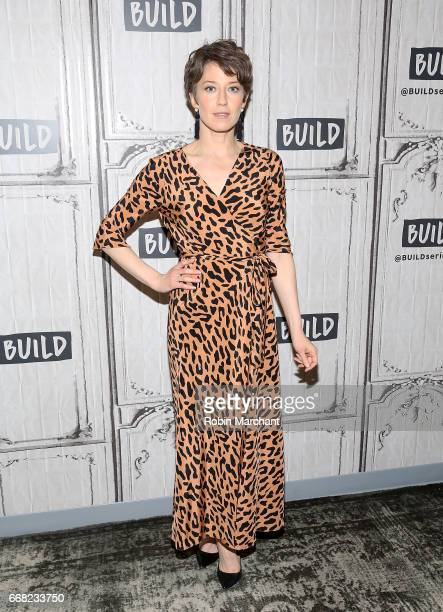 Build Series Presents Carrie Coon discussing 'The Leftovers' at Build Studio on April 13 2017 in New York City