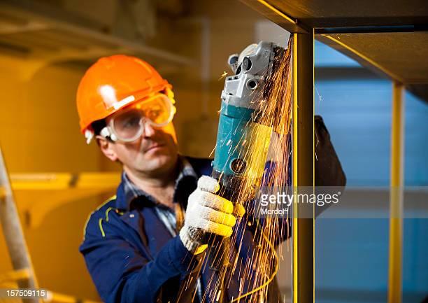 Builder polissage Soudures construction métallique