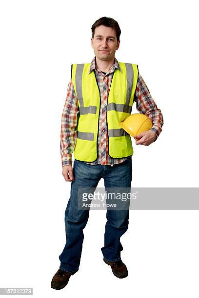 builder - reflective clothing stock pictures, royalty-free photos & images