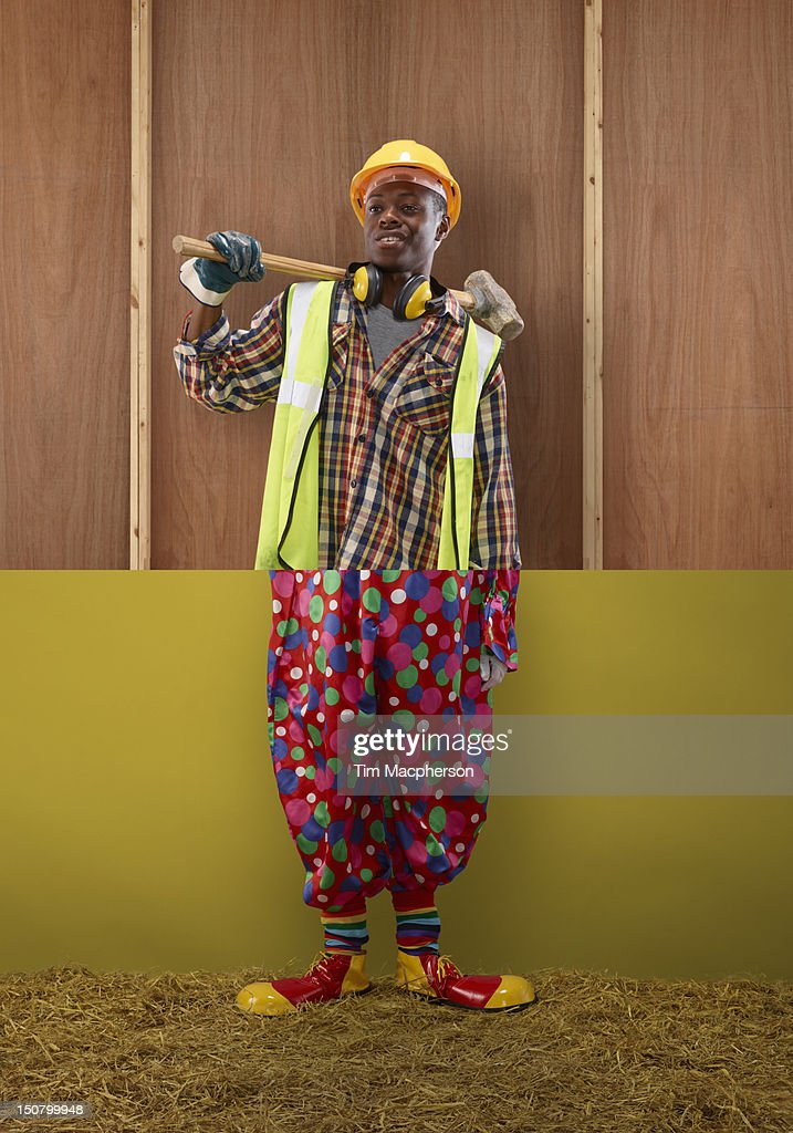 Builder Top Clown Bottom Stock Photo Getty Images