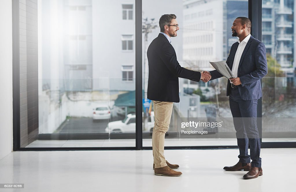 Building a business together : Stock Photo