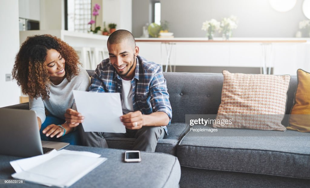 Building a tight household budget : Stock Photo