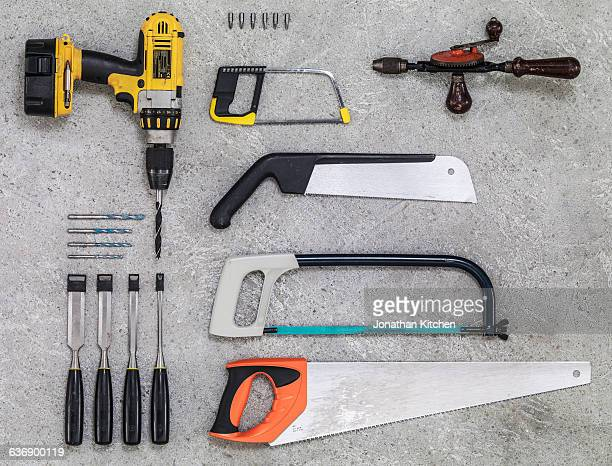 building and maintenance tools 2 - drill stock pictures, royalty-free photos & images