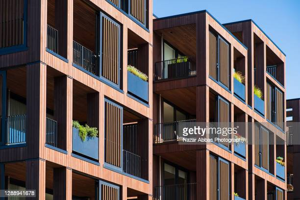building apartments. - auckland stock pictures, royalty-free photos & images