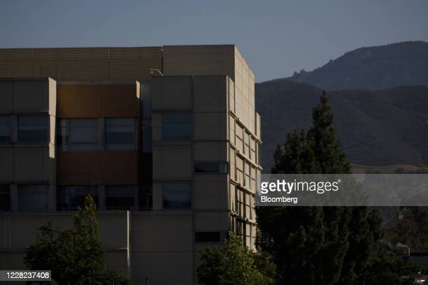Building at Amgen Inc. Headquarters in Thousand Oaks, California, U.S., on Thursday, Aug. 27, 2020. Amgen is among the world's biggest biotechnology...