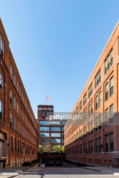 building at mcdougall st, detroit, - fda stock photos and pictures