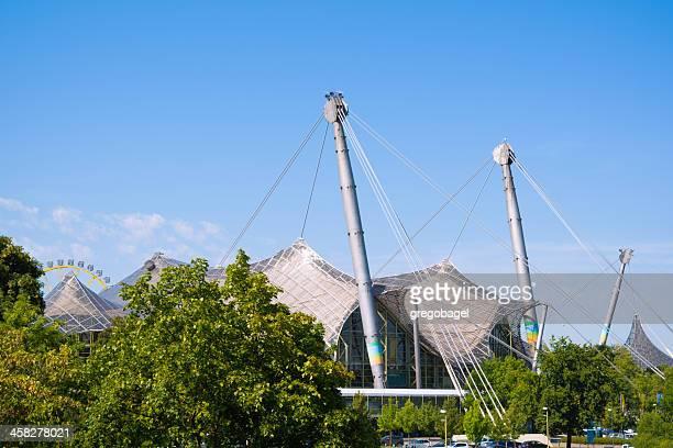 Gebäude im Olympic Park in München, Deutschland