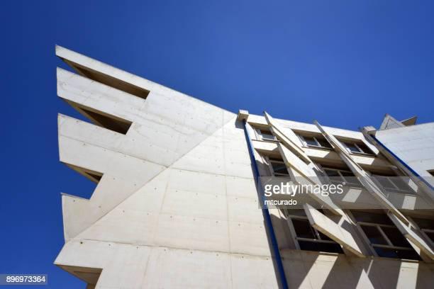 Building at the campus of the Lisbon University Institute, ISCTE IUL, Lisbon, Portugal