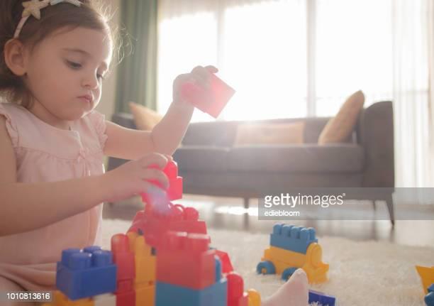 bloque de construcción de juego - montar fotografías e imágenes de stock