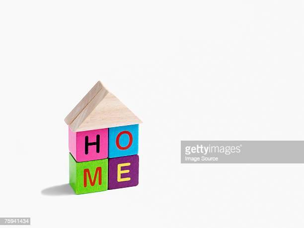 Building block home