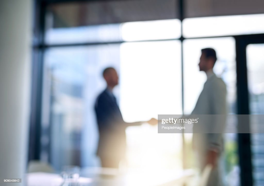 Building business relationships : Stock Photo