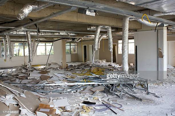 building demolished - demolishing stock pictures, royalty-free photos & images