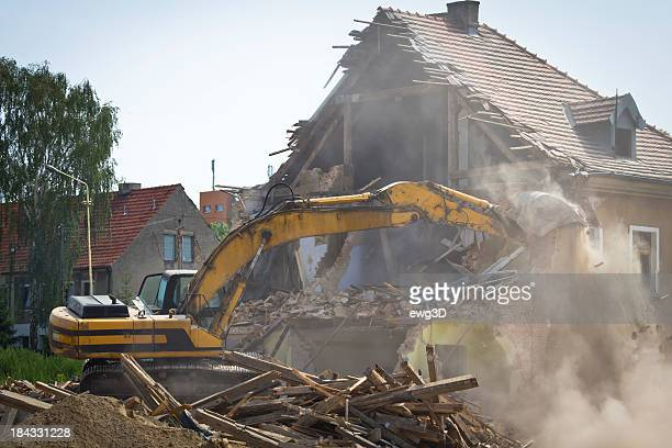 building demolition - rubble stock photos and pictures