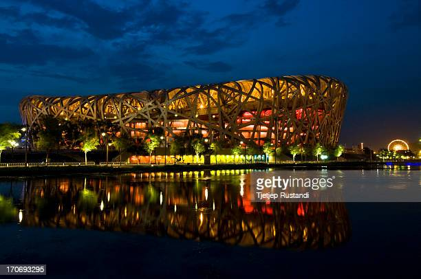 Chinese Olympic Committee 2008 Summer Olympics Cost 35 Billion Yuan Area 250000 square meters Height 692m Length 330m Width 220m Program seating for...