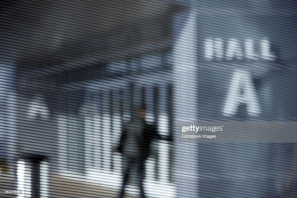 Building entrance : Stockfoto