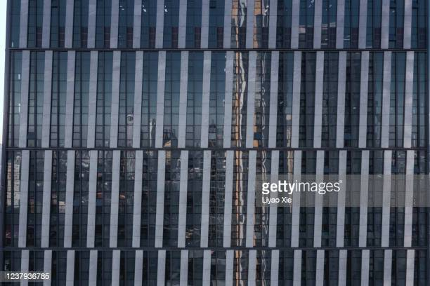 building facade reflection - liyao xie stock pictures, royalty-free photos & images