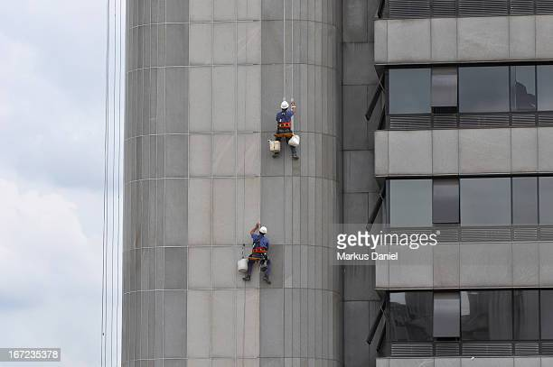 Building Facade Repair Workers