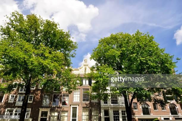 Building facades in Amsterdam