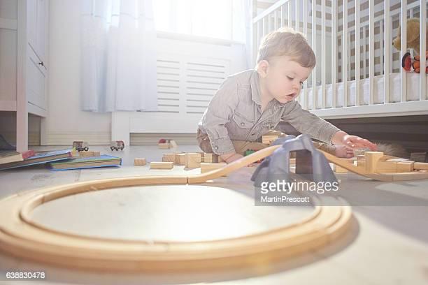 building his train set